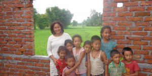 indira-in-jhapa-with-kids